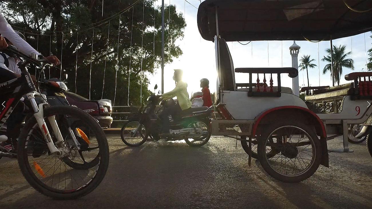 traffic in Asia